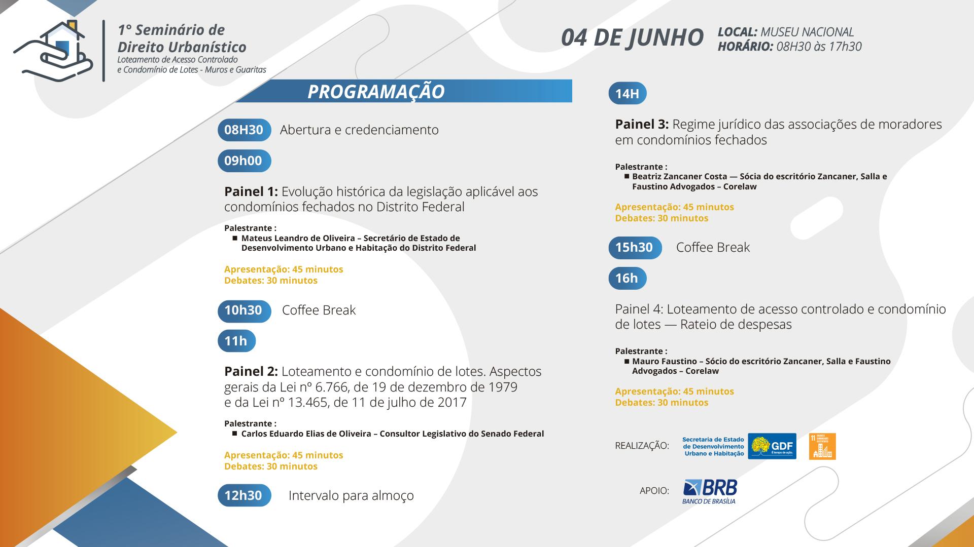 programacao-1.o-seminario-de-direito-urbanistico-4-de-junho-controle-de-acesso-condominios-muros-e-guaritas-museu-nacional-seduh-df